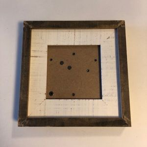 4x4 Picture Frame - Brand New!